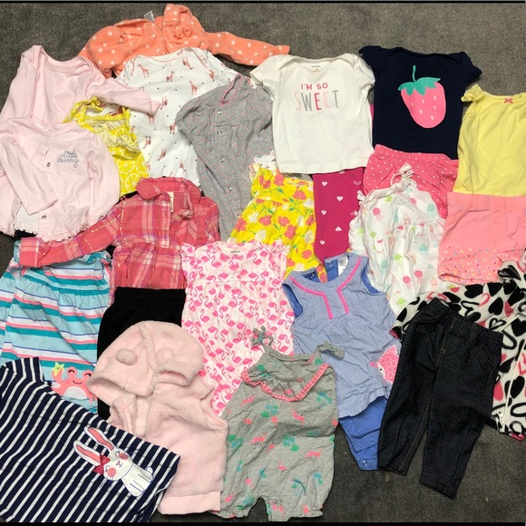 Carter's Other - SOLD: 30+ pieces 6-9 months - brand new